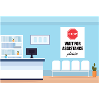 WallOffice-Sign - Stop Wait for Assistance