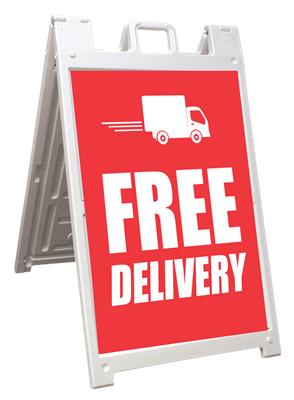 A-Frames - Free Delivery
